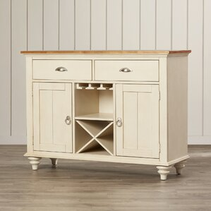 Wood Server by Beachcrest Home