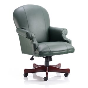 real leather executive chair