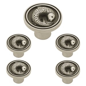 Seaside Cottage 5 Piece Pisces Fish Round Knob Set