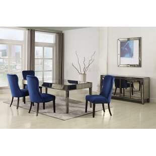 Thorp 5 Piece Solid Wood Dining Set