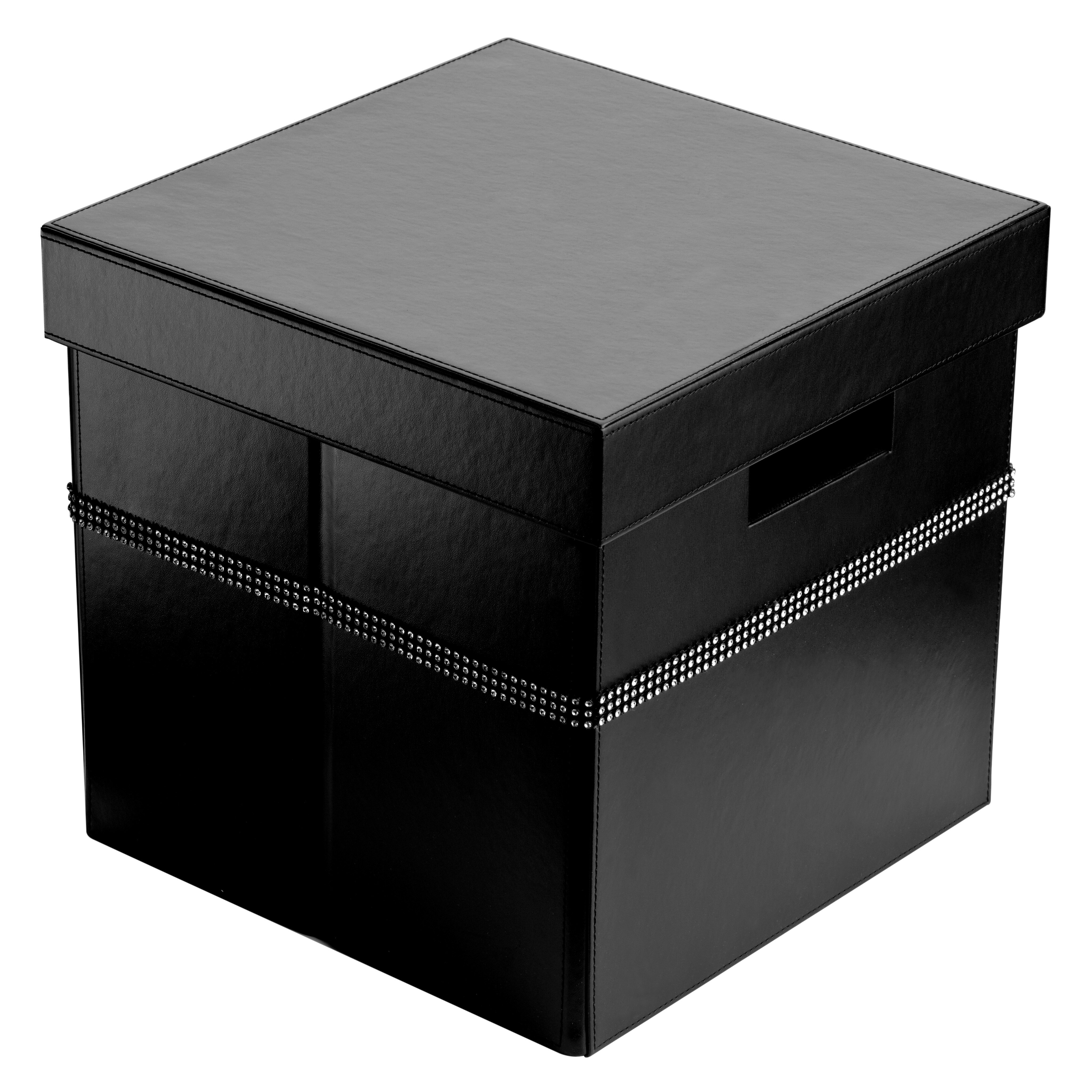 All Home Leather Storage Box With Lid | Wayfair.co.uk