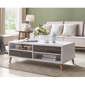 Mercury Row Brightwood Contemporary Coffee Table