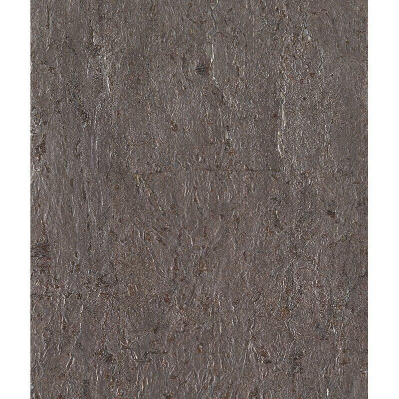 """17 Stories Kenzo 24 L x 36"""" W Cork Wallpaper Roll  Color: Glint"""