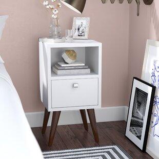 modern & contemporary narrow nightstand   allmodern Narrow Nightstand