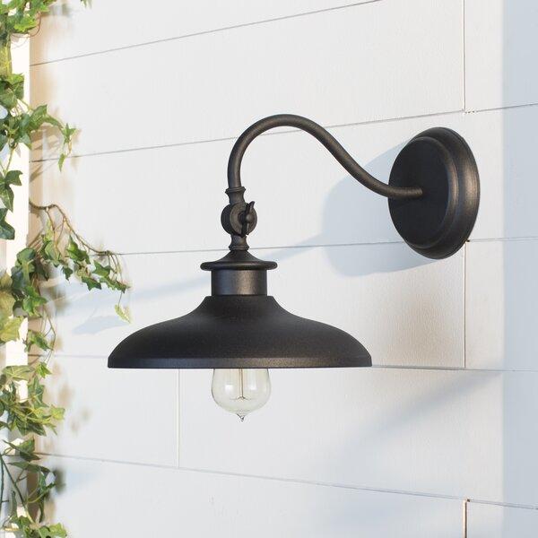 Beachcrest Home Tennyson 1-Light Outdoor Barn Light