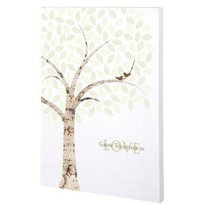 Tree Canvas Wedding Sign