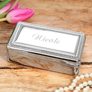 Initial Jewelry Box Wayfair