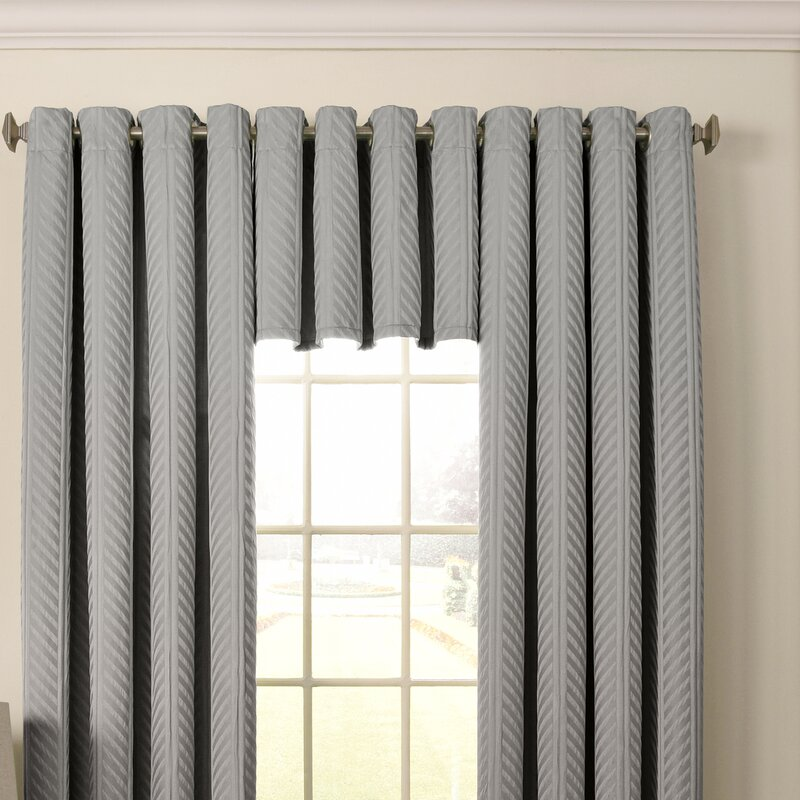 Malbrouk Blackout Grommet Curtain Valance