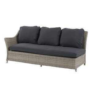 Monterey Low Left Arm Sectional Piece with Cushions