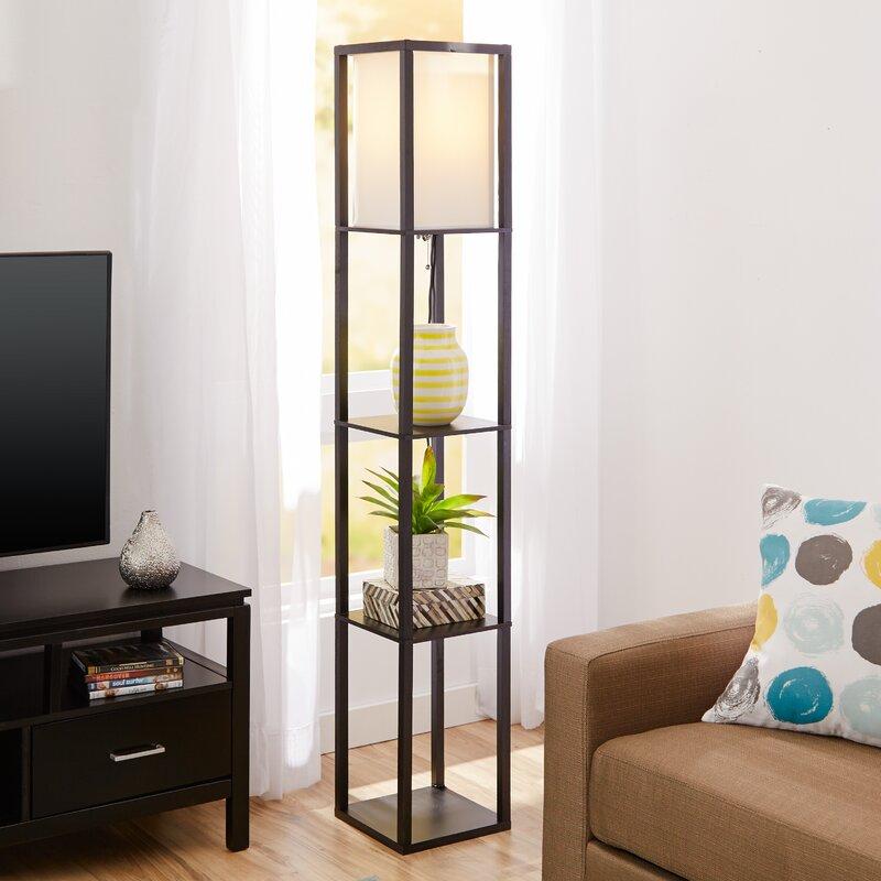 Wood Floor Lamps You'll Love   Wayfair