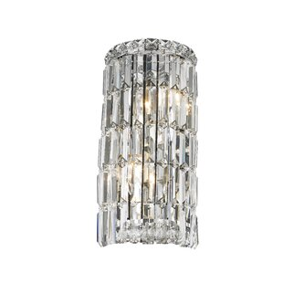 Chandelier wall sconce wayfair anjali contemporary 2 light wall sconce aloadofball Images