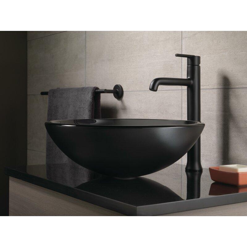 Delta Trinsic® Vessel Sink Bathroom Faucet and Diamond™ Seal ...