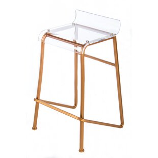 Clear Lucite Counter Stools   Wayfair