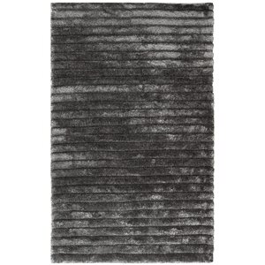 Blanch Hand-Tufted Black/Gray Area Rug