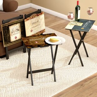 Folding Tv Trays With Stand Wayfair