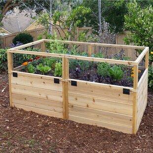 6 Ft X 3 Ft Cedar Raised Garden