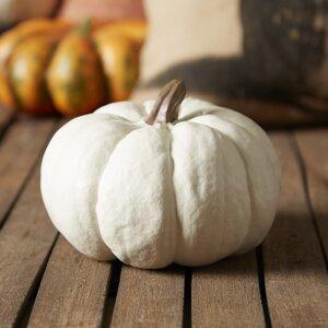 White Pumpkin Sculpture