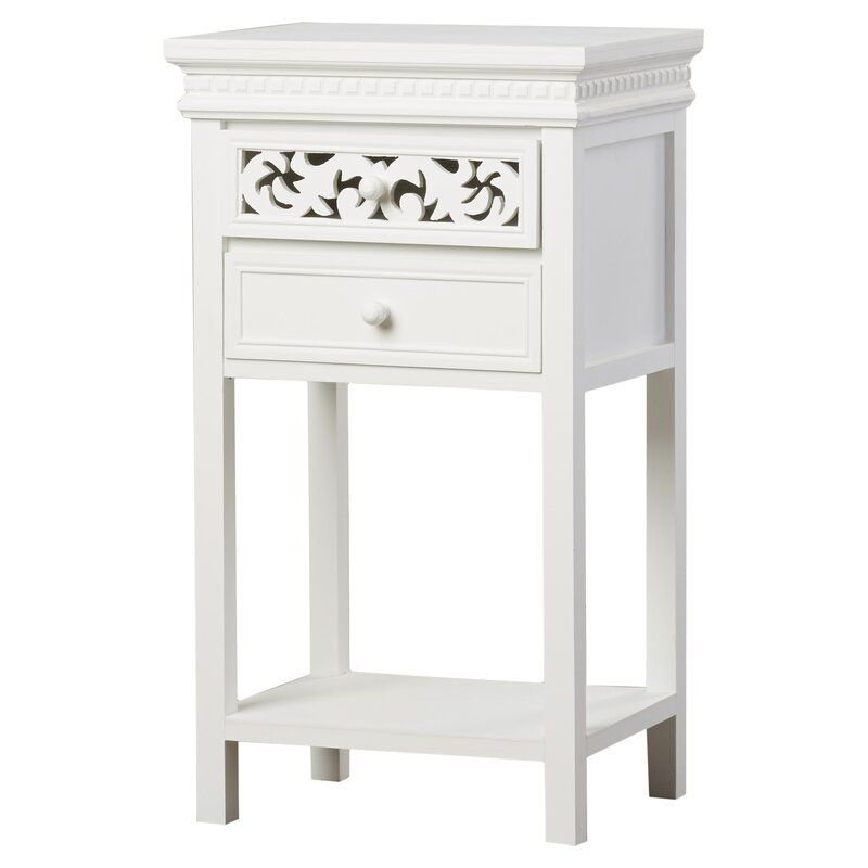 Charlton home nagel end table with storage reviews for Storage charlton