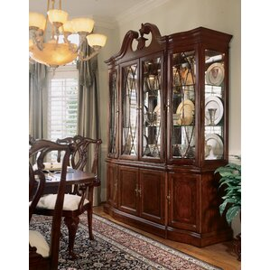 Staas Wood Lighted China Cabinet by As..