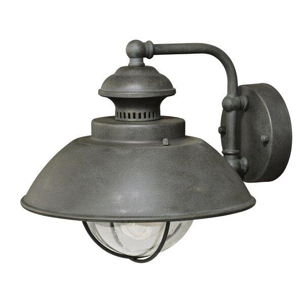 Beachcrest Home Archibald Outdoor Barn Light U0026 Reviews   Wayfair