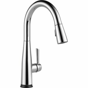 Attractive Essa Pull Down Touch Single Handle Kitchen Faucet With LED Light