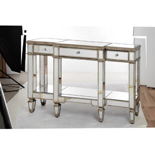 Conley Mirrored Display Console Table ...