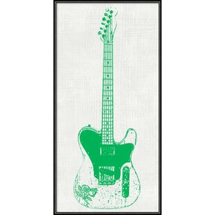 U0027Guitar Collector IIu0027 Framed Graphic Art Print