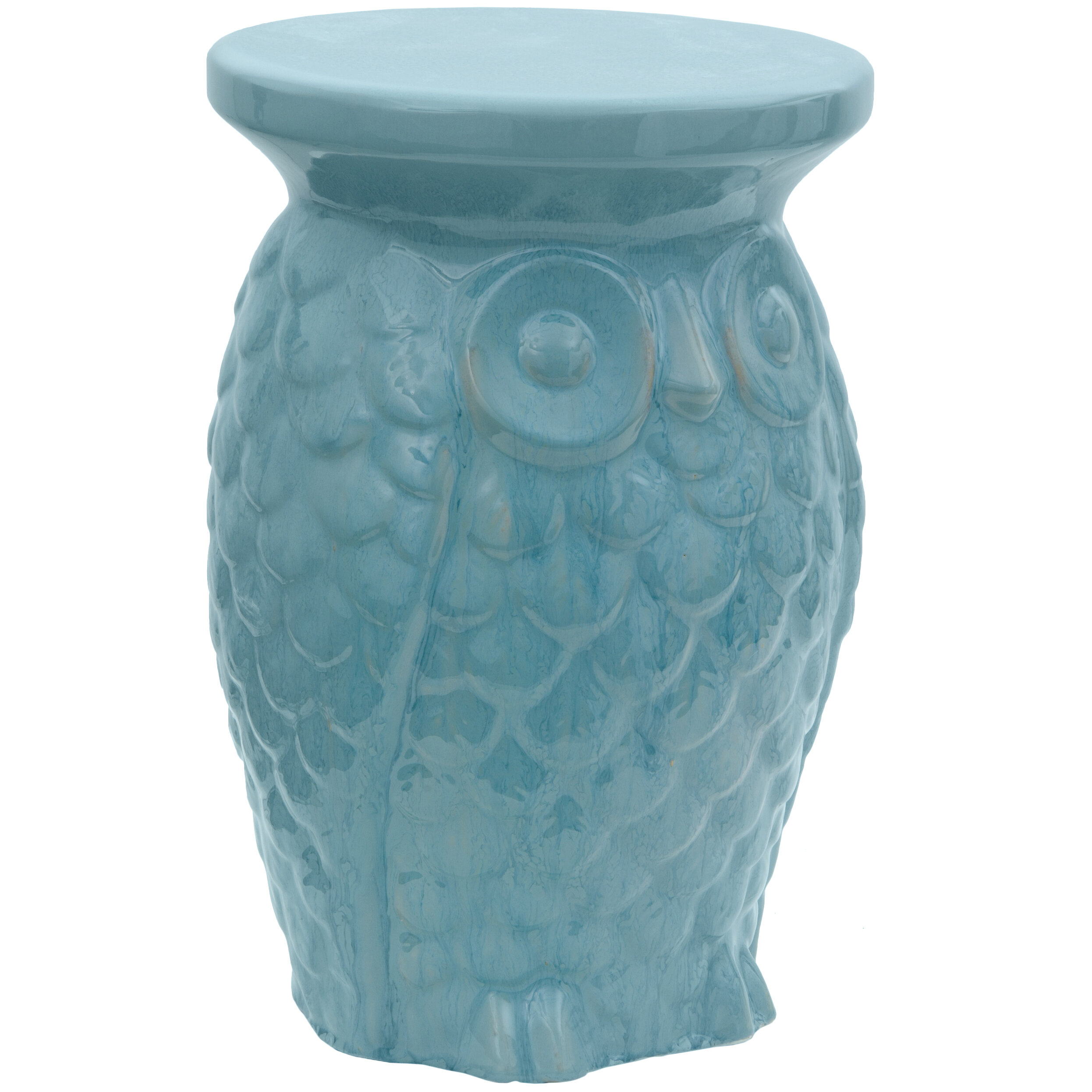 stool owl rolling and perch products blue ro