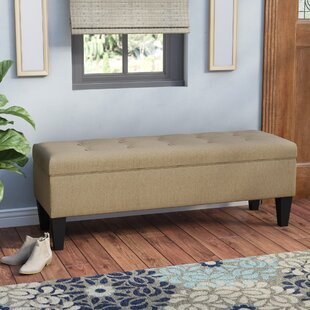 Tusarora Fabric Storage Bench