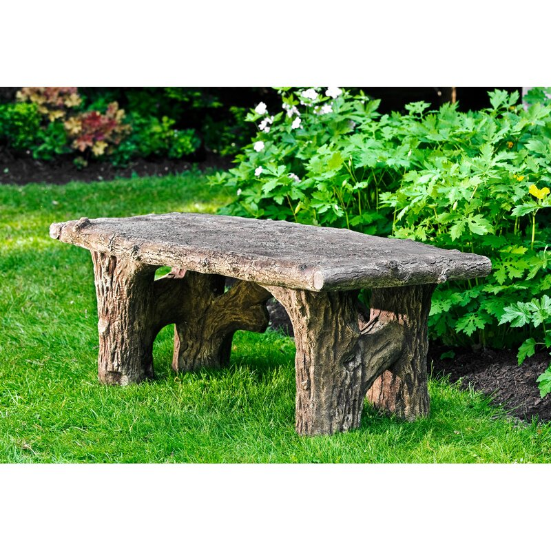 Piercefield Faux Bois Bench