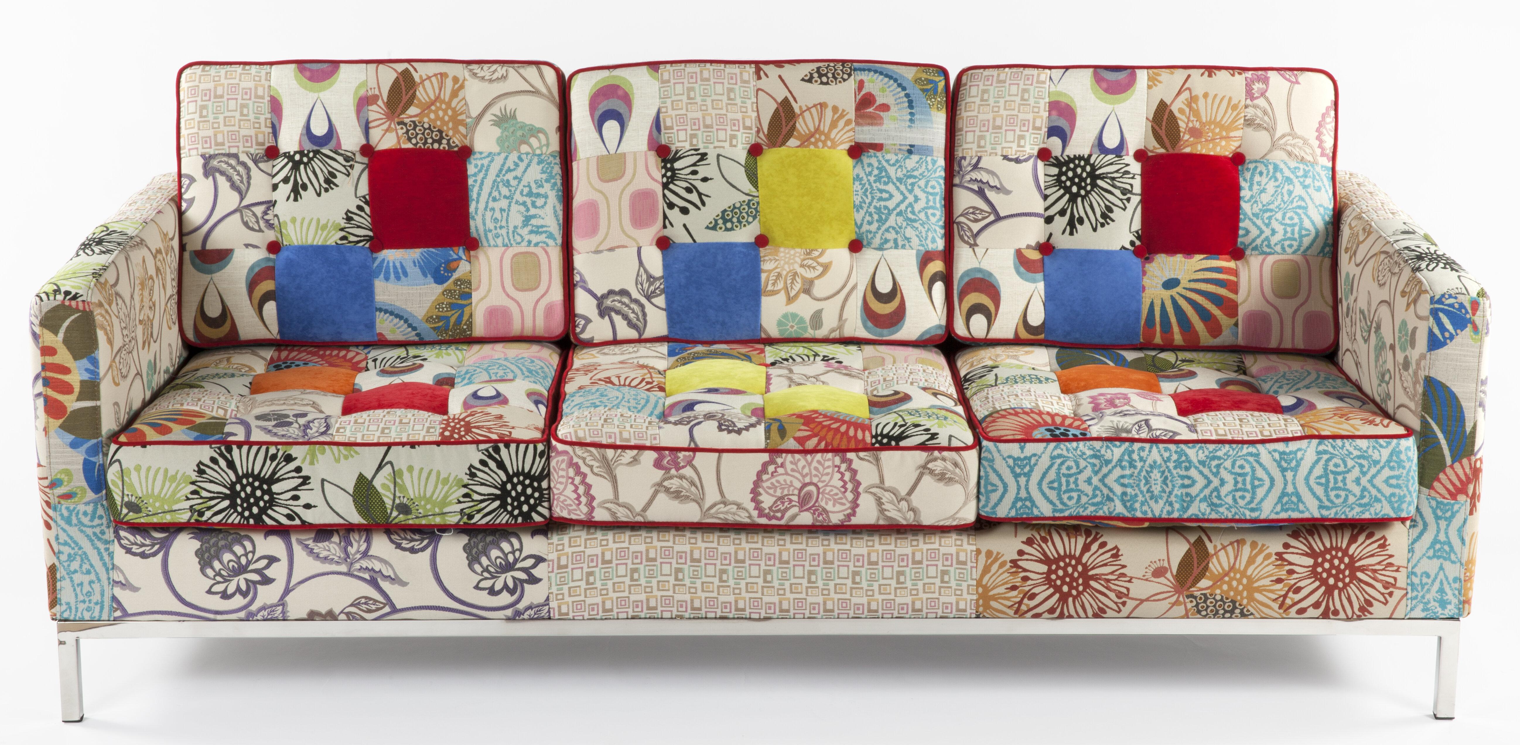 Großartig Sofa Patchwork Ideen Von