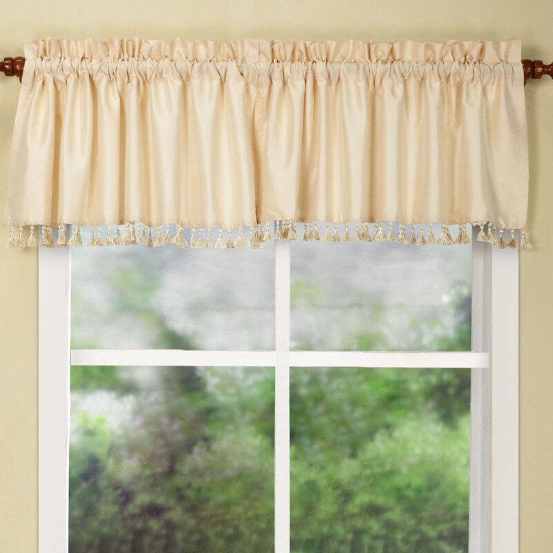 HFI Secret Curtain Valance & Reviews