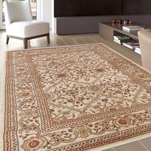 Bracken Cream Area Rug