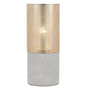 concrete table lamp. Franchot Concrete 18cm Table Lamp L