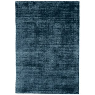 Remmie Hand Tufted Teal Rug by Longweave