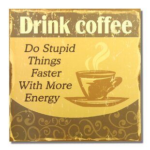 Superbe Coffee Wall Decor | Wayfair