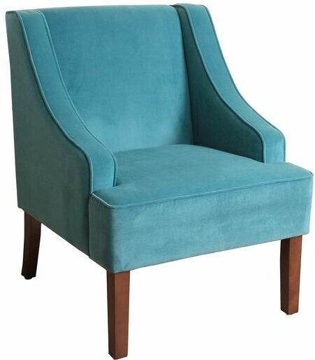 Elegant Krantz Swoop Armchair