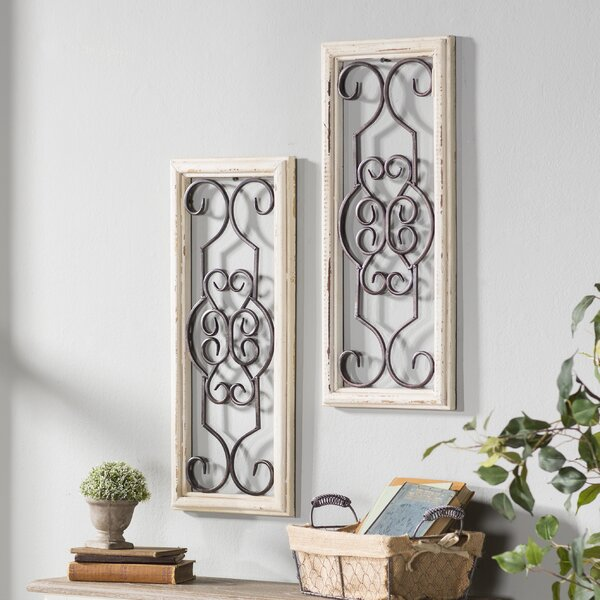 Wall Decor Quality Room Makeovers With Metallic: Lark Manor Ortie Panel Wall Décor & Reviews