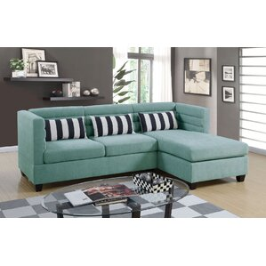 Enloe Reversible Sectional by Ivy Bronx