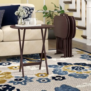 Susie Accent Tv Tray Table Set Of 4