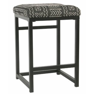 Delsur Metal Open Back 24 Bar Stool