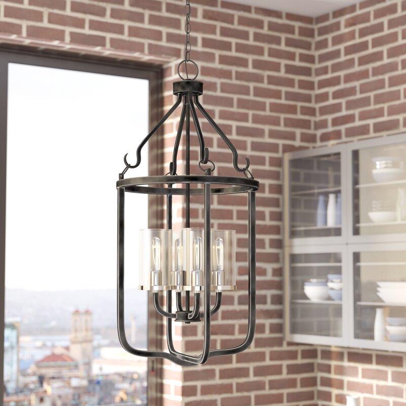Trent austin design kylee 4 light lantern pendant reviews wayfair kylee 4 light lantern pendant aloadofball Gallery