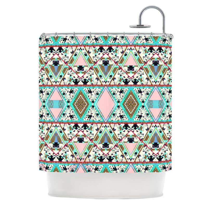 Deco Hippie Shower Curtain