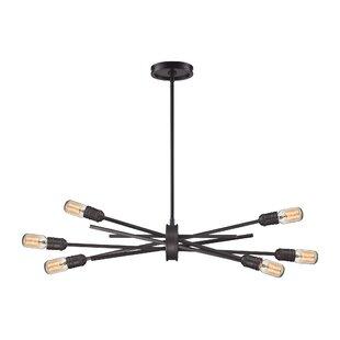 Modern and contemporary chandeliers allmodern byler modern 6 light chandelier aloadofball Images