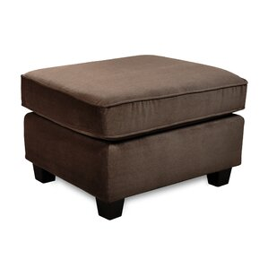 Clayton Ottoman by Red Bar..