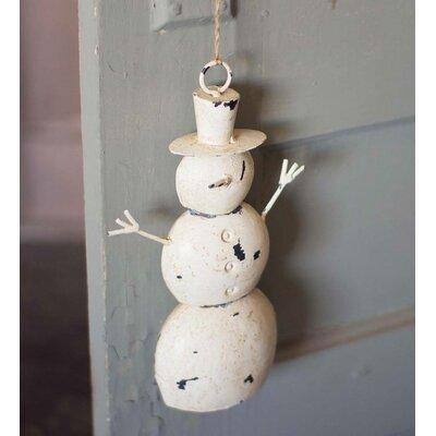 Iron Snowman Door Hanger