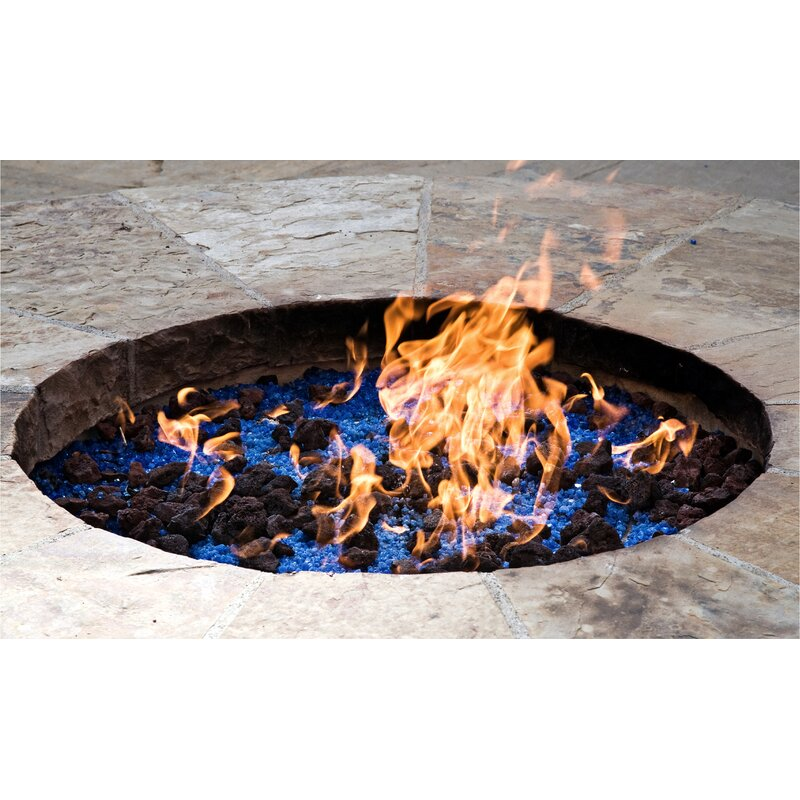 Steel Gas Fire Pit Burner - Fire Pit Essentials Steel Gas Fire Pit Burner Wayfair