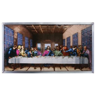 The Last Supper Art Glass Wall Décor  sc 1 st  Wayfair & Glass Wall Accents Youu0027ll Love | Wayfair
