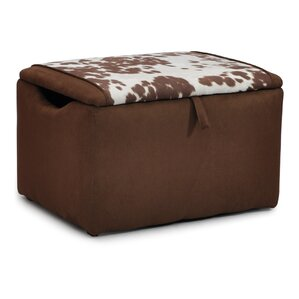 Eresus Kids Suede Ottoman with Storage Compartment by Zoomie Kids