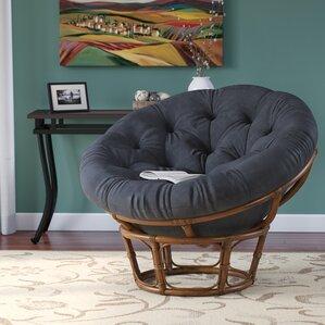 Decker Rattan Papasan Chair & Black Papasan Accent Chairs Youu0027ll Love | Wayfair islam-shia.org